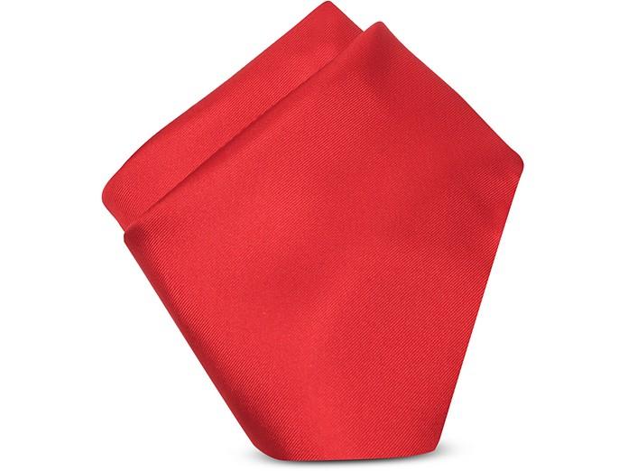 Pañuelo Seda Rojo - Forzieri