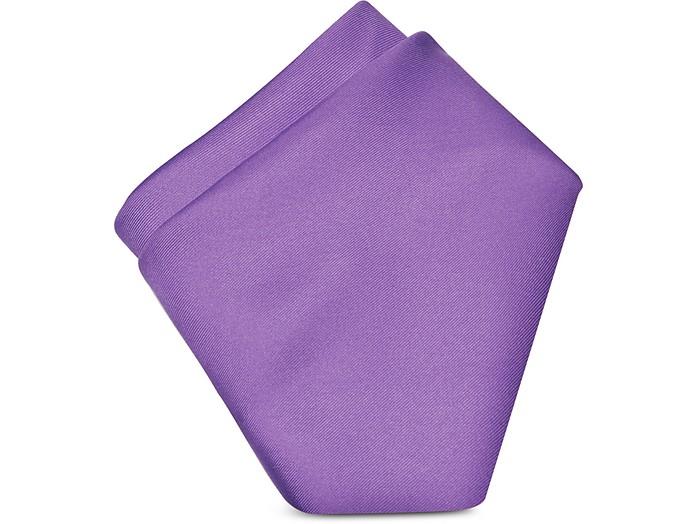 Solid Silk Pocket Square - Forzieri