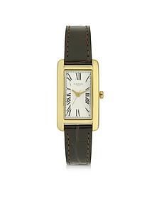 Andromeda Golden Stainless Steel Women's Watch