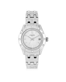 Roma Stainless Steel and Crystals Women's Watch - Forzieri
