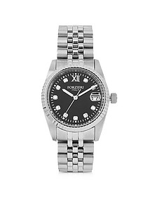 Trevi Silver Tone Stainless Steel Women's Watch - Forzieri