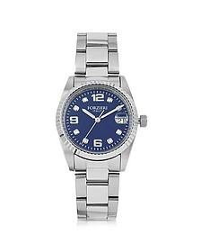 Sabina Silver Tone Stainless Steel Women's Watch