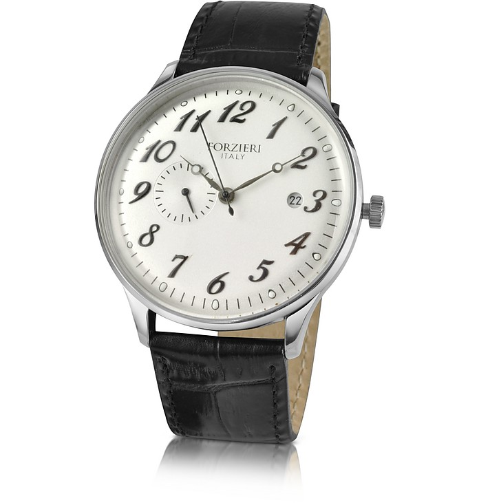 Automatic Stainless Steel Dress Watch - Forzieri