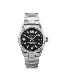 Roger Mini Reloj para Mujeres de Acero Inoxidable