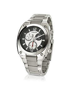 Men's Stainless Steel Bracelet Chronograph Watch - Forzieri