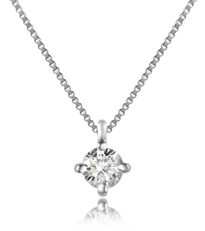 liked jewelry on diamond white infinity pin necklace gold forevermark stud polyvore featuring