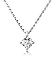 Diamond Stud Necklace - Forzieri