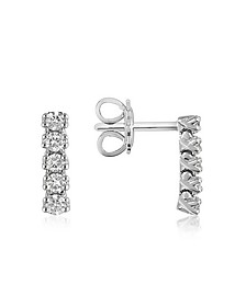 Boucles d'oreilles en or 750 avec diamants 0.37 Ct - Forzieri