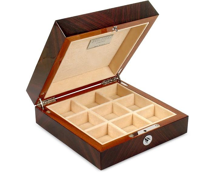 Forzieri Palisander Frame Wood Jewelry Box At Forzieri