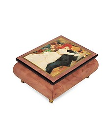 "It's a Small World - ""Dance at Bougival"" Musical Jewelry Box - Forzieri"