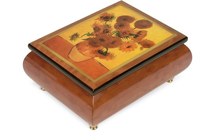 "It's a Small World - ""Sunflowers"" Musical Jewelry Box - Forzieri"