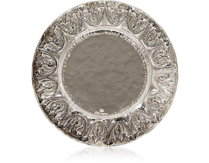 Silver Plated Brass Decorative Plate - Forzieri
