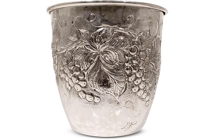 Silver Plated Brass Wine Bucket - Forzieri