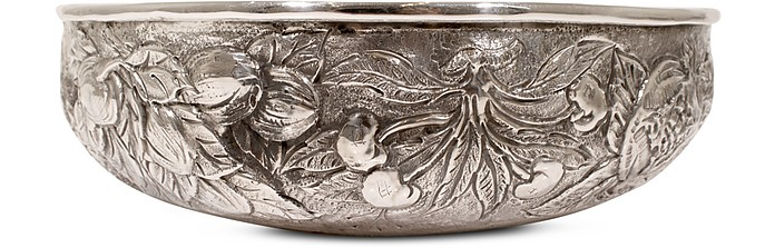 Silver Plated Brass Fruit Bowl - Forzieri