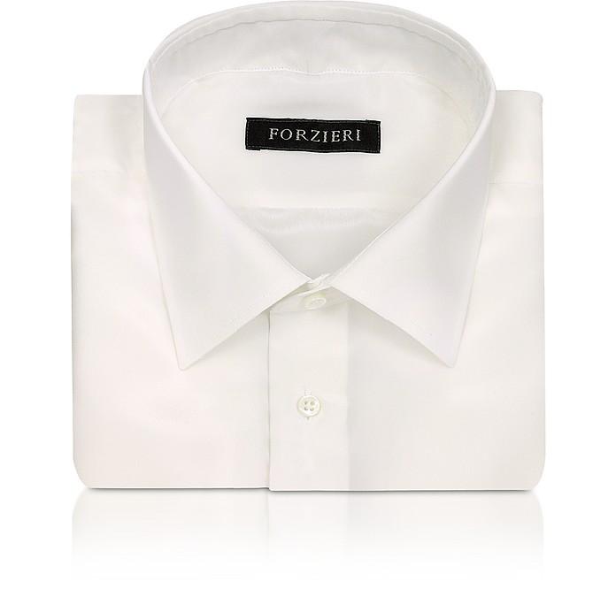 Camisa Seda color Marfil - Forzieri