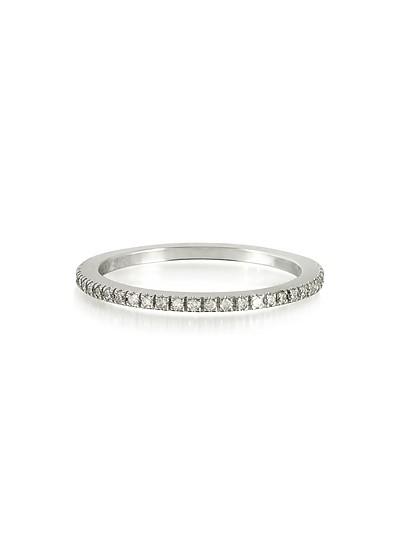Diamond Eternity Band Ring - Forzieri