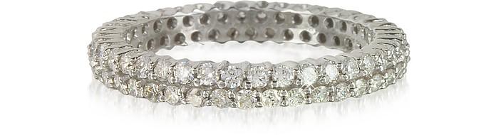 Diamonds Eternity Double Band Ring - Forzieri