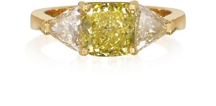 Diamond Gold Ring - Forzieri