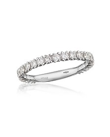 0.74 ct Diamond 18K Gold Eternity Band - Forzieri