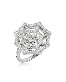 Bague en or blanc 750 et diamants - Incanto Royale