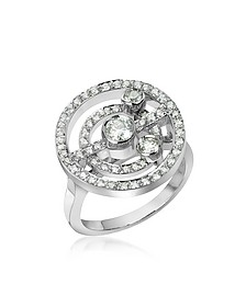 0.62 ctw Diamond 18K Gold Ring - Incanto Royale