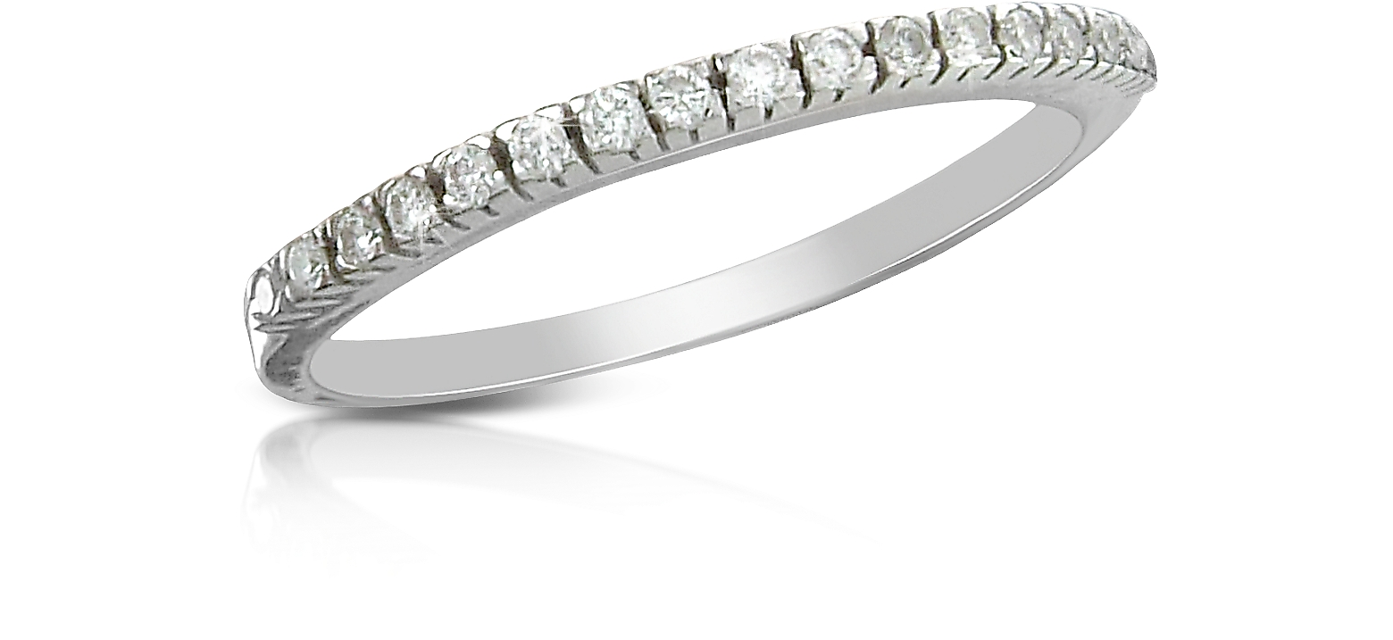 0.115 ct Diamond Band Ring