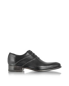 Zapatos Oxford Negros Hechos a mano - Forzieri