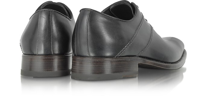 newest save up to 60% 2020 Black Italian Handcrafted Leather Oxford Dress Shoes