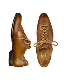 Zapatos Hombre Hechos a Mano Marrones - Forzieri
