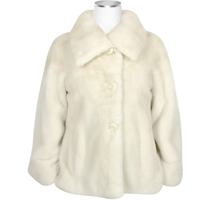 Ultimate Luxury Collection Pearl Mink Fur Button-front Jacket - Forzieri