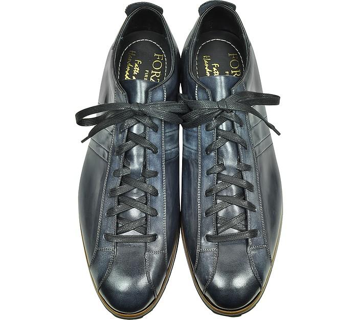 Sneaker Pelle in Sneaker Nero Forzieri Anticato in 41 vwqtP5q