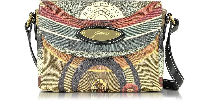 San Francisco 6e816 4b16b Planetarium Borsa Piccola con Tracolla in Pelle e Tessuto