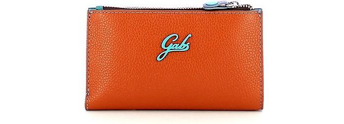Women's Orange Wallet - Gabs