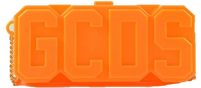 Neon Orange GCDS Clutch - GCDS