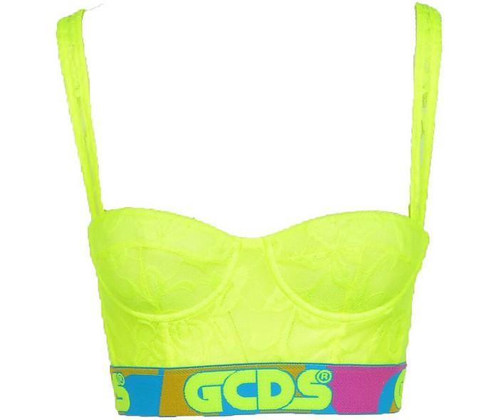Women's Yellow Top - GCDS