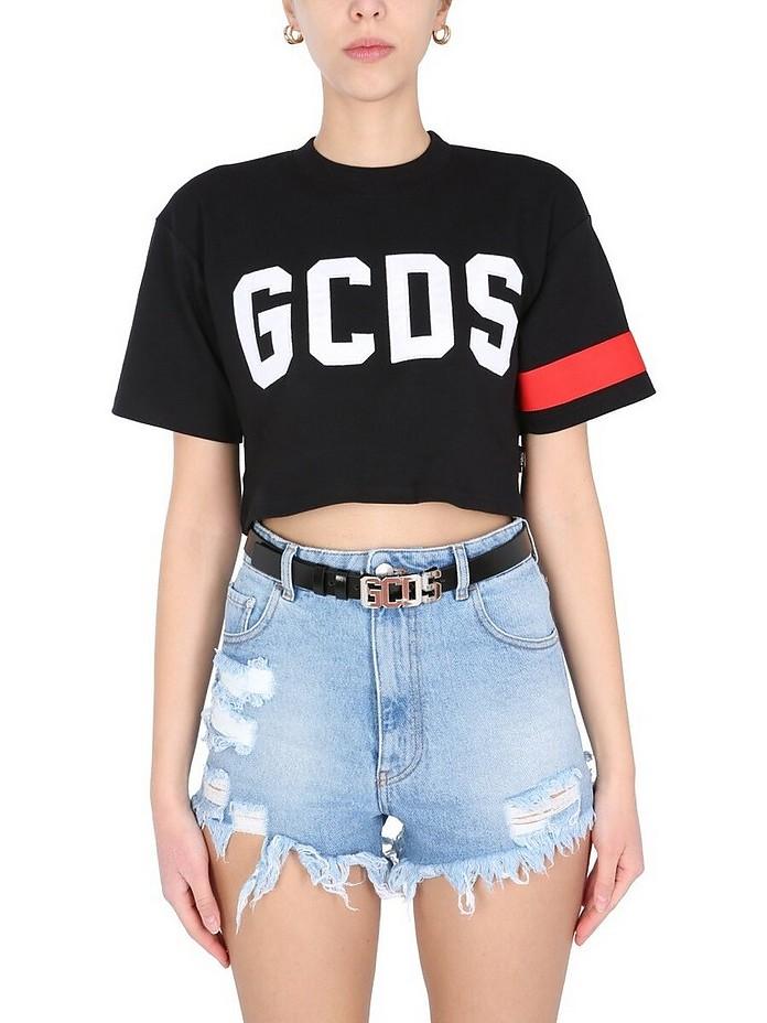 Cropped T-Shirt - GCDS