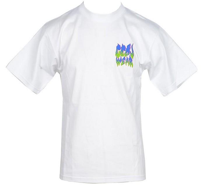 Men's White T-Shirt - GCDS
