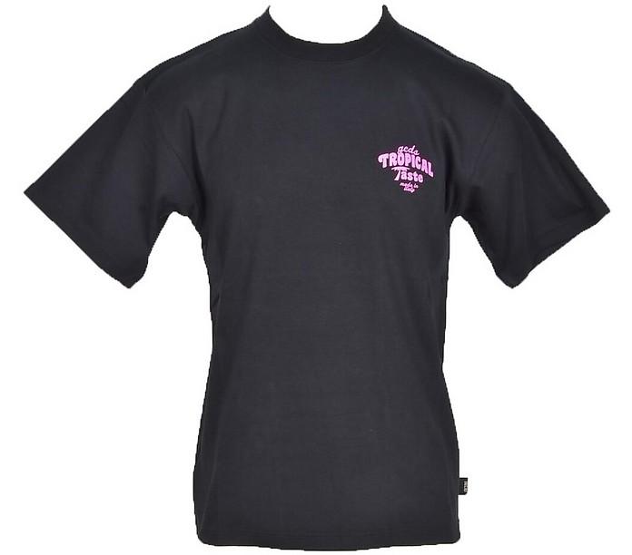 Men's Black T-Shirt - GCDS