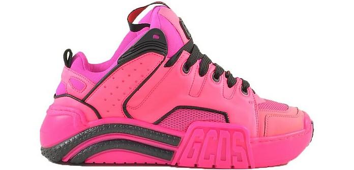 Women's Fuchsia Sneakers - GCDS