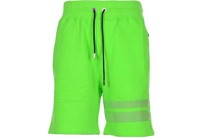 Men's Green Bermuda - GCDS