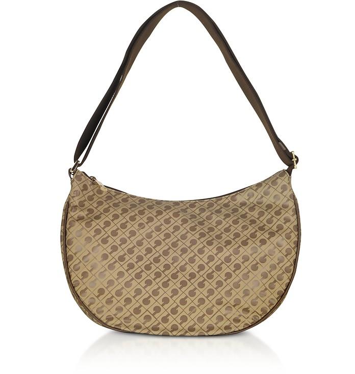 Signature Fabric Softy Shoulder Bag - Gherardini