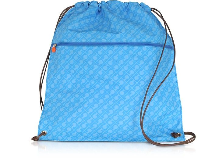 Signature Fabric Softy Backpack w/Front Pocket - Gherardini