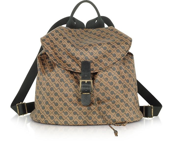Signature Fabric Softy Backpack - Gherardini