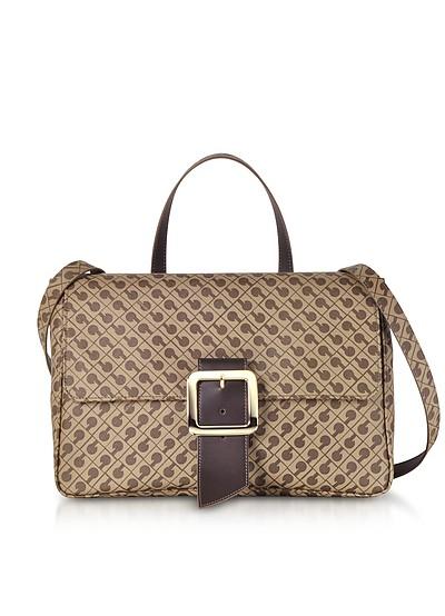 Koko Signature Saffiano Eco Leather Top-Handle Stachel Bag - Gherardini