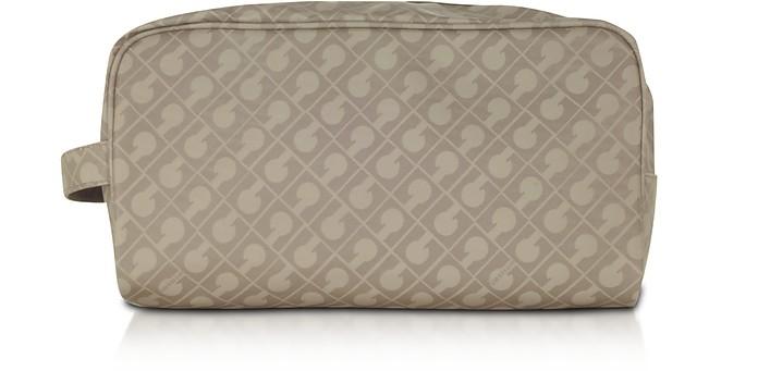 Signature Fabric Softy Beauty Case - Gherardini