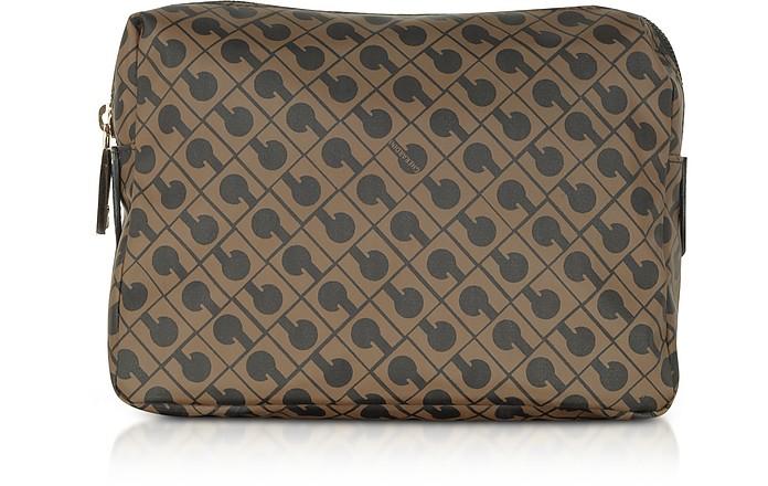 Signature Fabric Softy Cosmetic Case - Gherardini