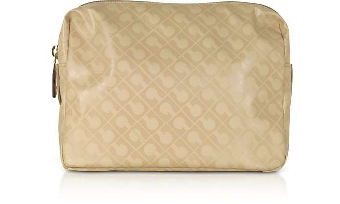 Signature Fabric Softy Cosmetic Case - Gherardini
