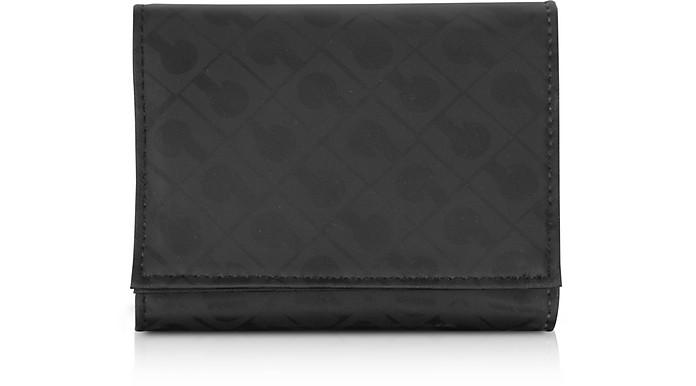 Signature Fabric Softy Tri-Fold Purse - Gherardini