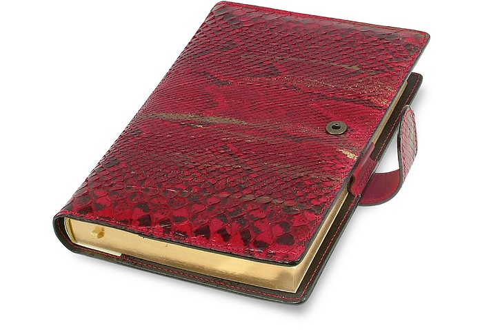 Red and Gold Python Daily Planner Agenda - Ghibli