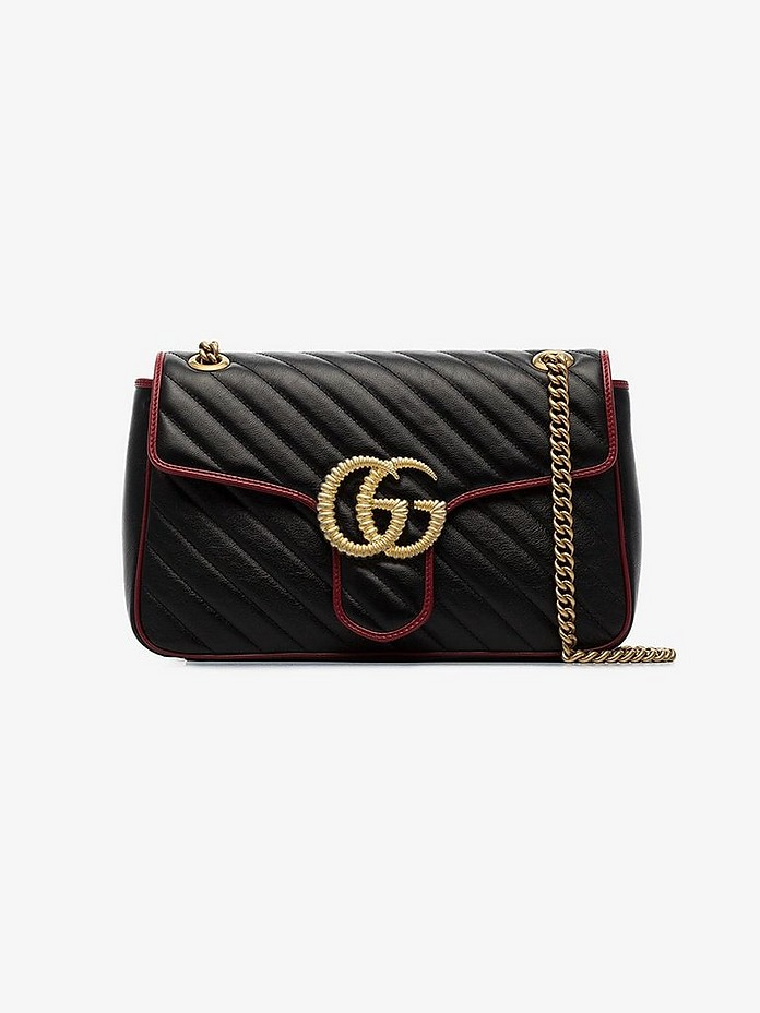 Gucci Shoulder Monogram shoulder bag